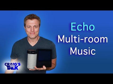 Amazon echo multi room music update - echo in multiple groups setup