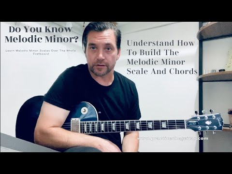The melodic minor scale - why melodic minor is awesome