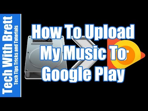 How to upload music to google play music