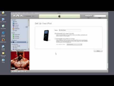 How to download songs onto an ipod nano