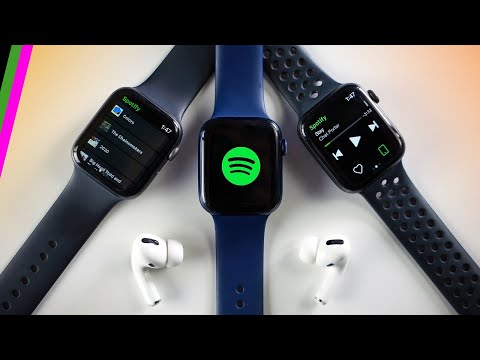 Apple watch spotify streaming // how it works what you can and can't do (jan 2021)
