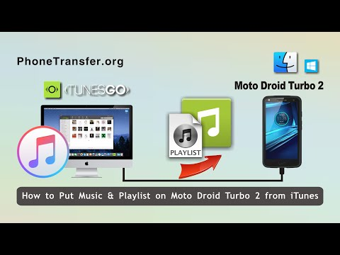 How to put music on moto droid turbo 2 from itunes, put itunes playlist on droid turbo 2