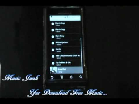 Motorola droid app music junk: how to download free music onto your phone