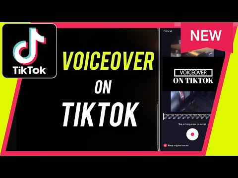 How to add voiceover on tiktok