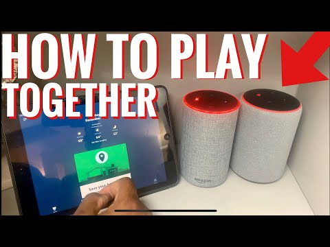 How to set up and play multi-room music with alexa speakers
