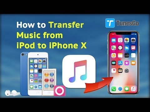 How to transfer music from ipod to iphone x/xs/xr/11/12