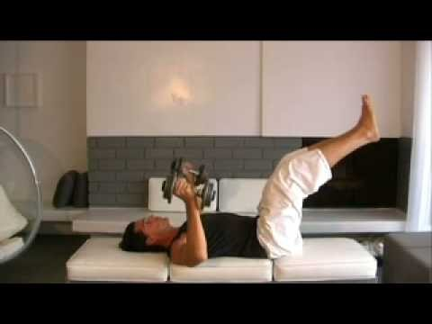Brad pitt's trainer gregory joujon-roche, get ripped chest and abs in one exercise move !!