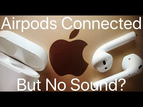How to get sound to your apple airpods (works for all bt headphones/speakers)