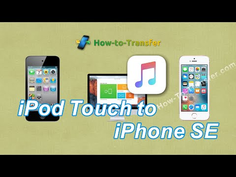 How to sync ipod touch with iphone se for music transfer directly