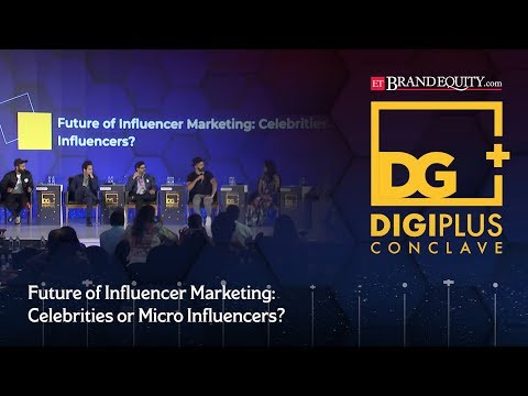 Panel discussion on 'future of influencer marketing: celebrities or micro influencers?'