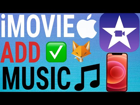 How to add music/sounds to imovie (iphone & ipad)