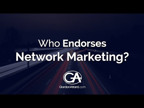 Celebrities that endorse network marketing