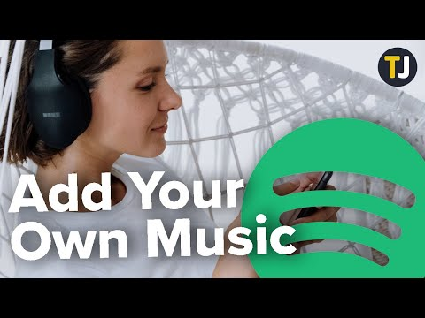 How to add your own music on spotify