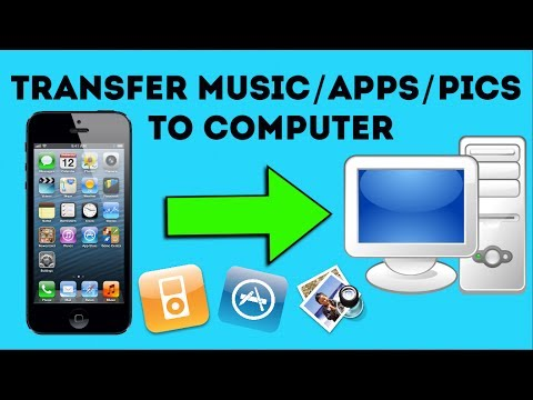 How to transfer music from ipod, iphone, ipad to computer