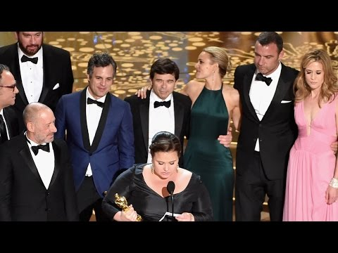 Spotlight wins best picture at oscars 2016