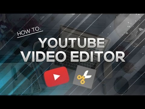 How to use youtube video editor and add music to your youtube videos! (2020)