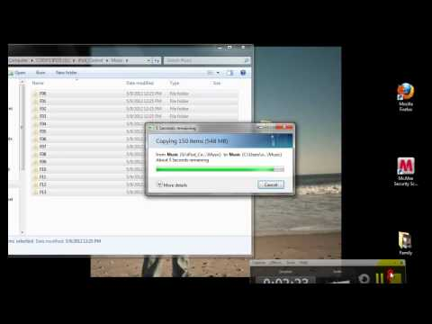 How to put songs from ipod into itunes (no software)