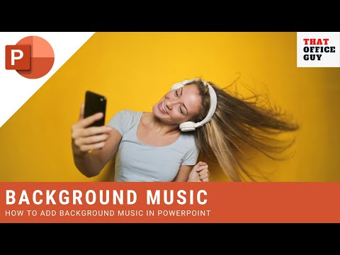 How to add music in powerpoint [playing music in powerpoint]