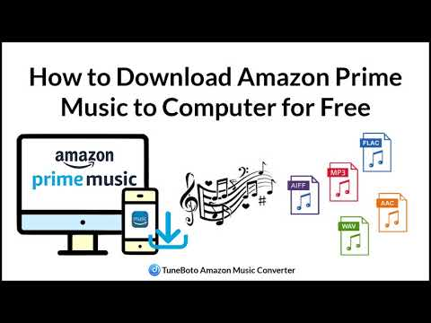 How to download amazon prime music to computer for free