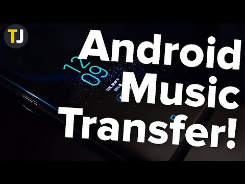 How to add music from your computer to android!