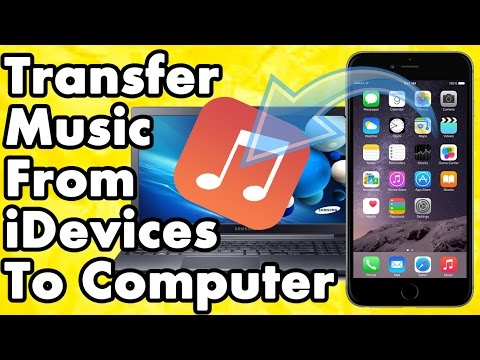 How to transfer music from iphone ipad ipod to pc or mac without itunes