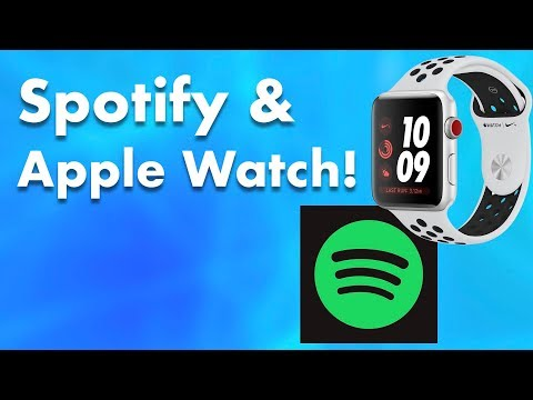 How to control spotify on iphone from apple watch!
