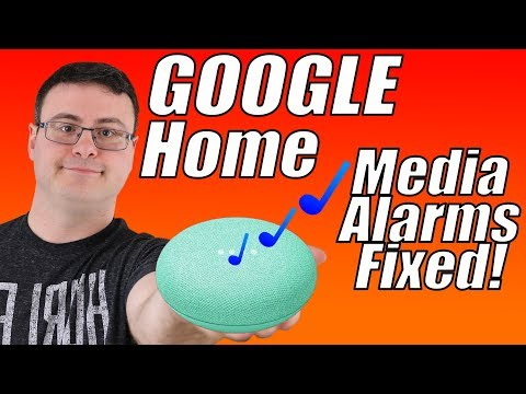 The google home media alarm volume issue - and a fix!