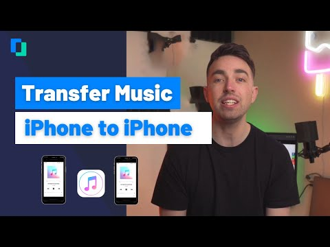 How to transfer music from iphone to iphone [2021]-4 ways