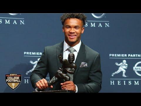 Kyler murray wins the 2018 heisman trophy   college football 2018