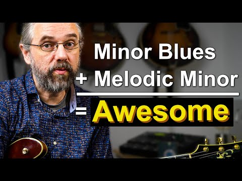 How to make minor blues sound amazing with melodic minor