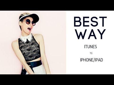 How to transfer music from itunes to iphone. best way