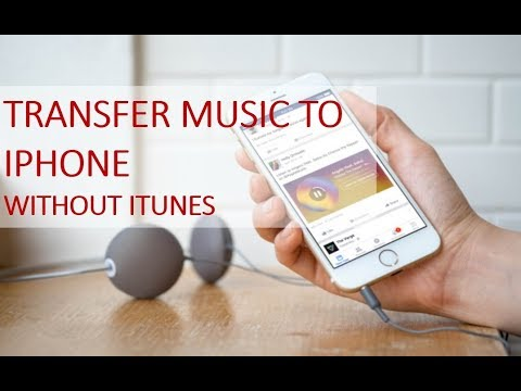 How to transfer music to iphone without itunes