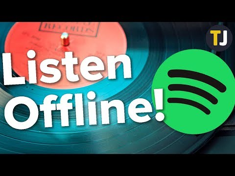 How to play music offline with spotify