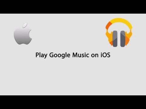 How to use google play music on iphone/ipad/ipod