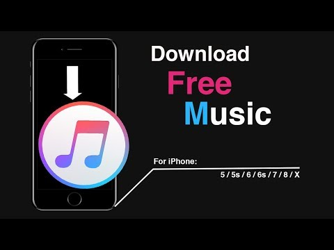 How to download music on iphone 6s/7/8/x/xs/11 free