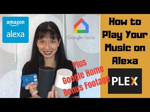 How to play your mp3 music on alexa with plex full tutorial