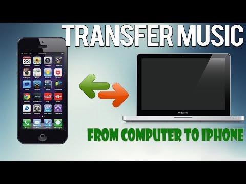 How to transfer music from computer to iphone without itunes