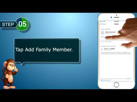 How to add family members to family sharing on apple iphones user guide support