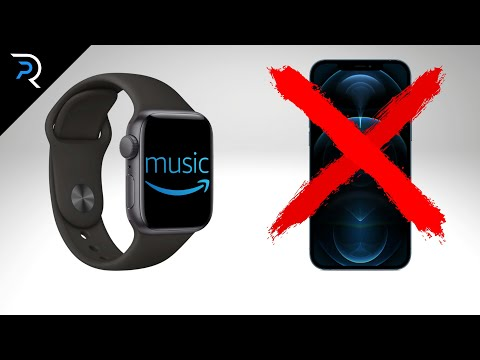How to play amazon music on apple watch - without iphone!!