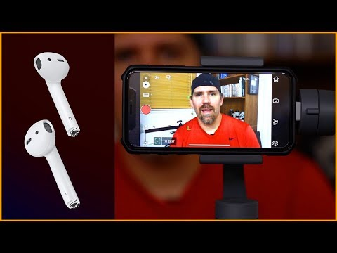 Airpods as video mic 🎤 hack? | audio tests & review