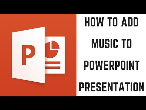 How to add music to a powerpoint presentation