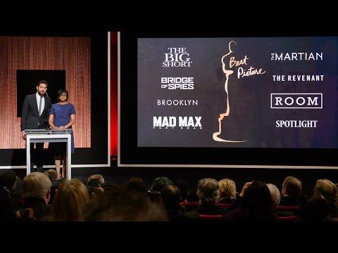Oscar nominations 2016: full show on demand