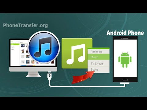 How to sync music from itunes to android phone, transfer itunes playlist to android device