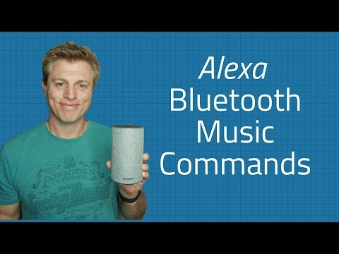 Alexa iphone music bluetooth commands - stop and start with your voice