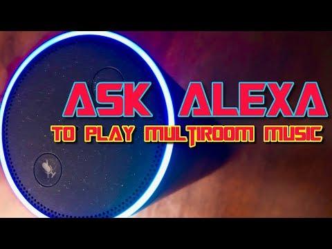 How do i play multi room music on alexa?