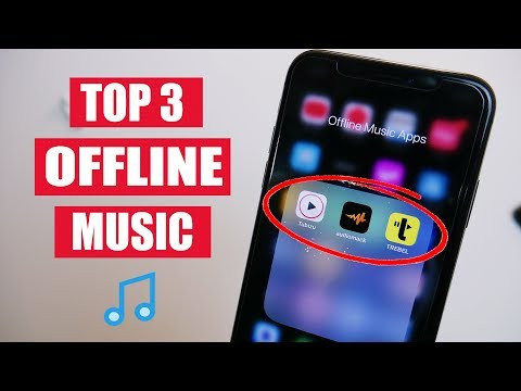 Top 3 free music apps for iphone & android! (offline music - 2021)