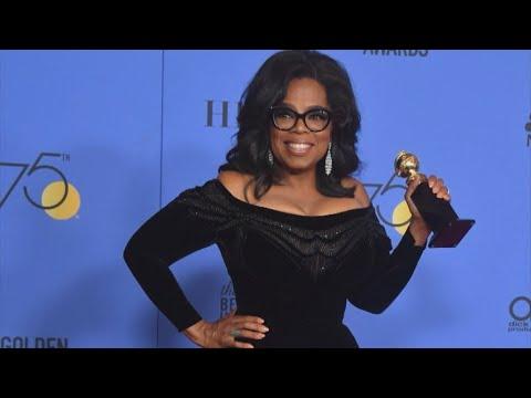 Oprah winfrey: talk show host, actress, businesswoman... president?