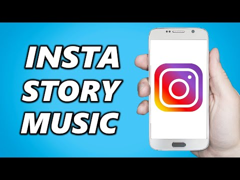 How to add music to your instagram story with lyrics & with photo!